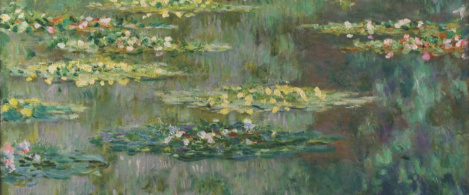 Claude Monet - Le Bassin Aux Nymphéas (Water Lily Pond) by Claude Monet | Buy Posters, Frames, Canvas  & Digital Art Prints