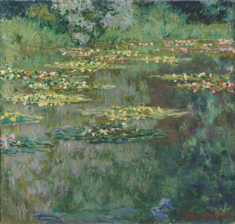 Claude Monet - Le Bassin Aux Nymphéas (Water Lily Pond) by Claude Monet