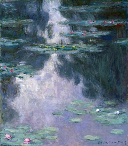 Pond with Water Lilies - Art Prints