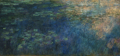 Claude Monet - Reflections of Clouds on the WaterLily Pond