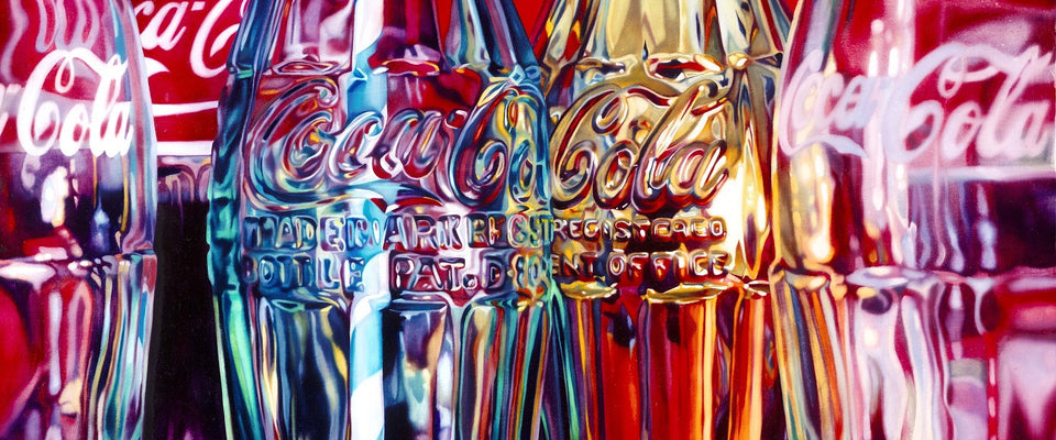 Coke And Stripey Straw by Sherly David | Buy Posters, Frames, Canvas  & Digital Art Prints