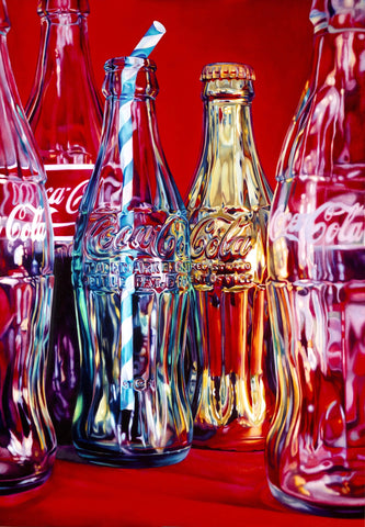 Coke And Stripey Straw by Sherly David