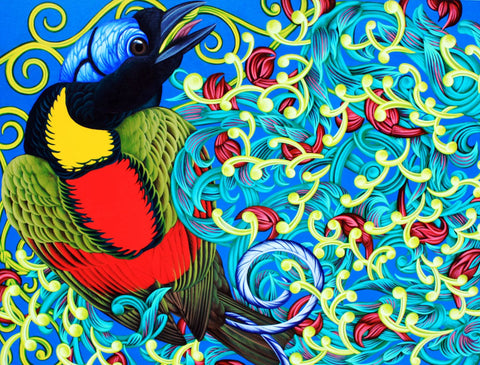 Colorful Art of Bird