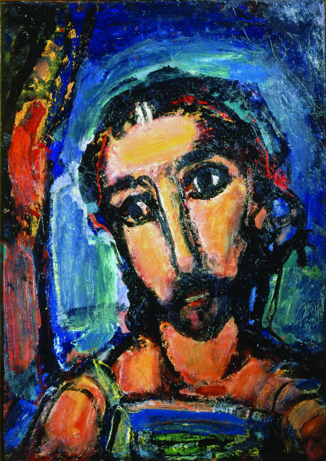 colorful artwork of christ posters by haidar babo buy posters