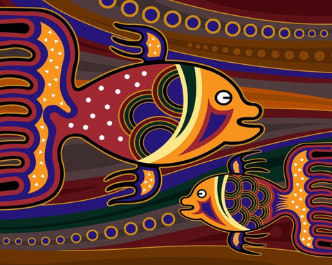 Colorful Fish Art