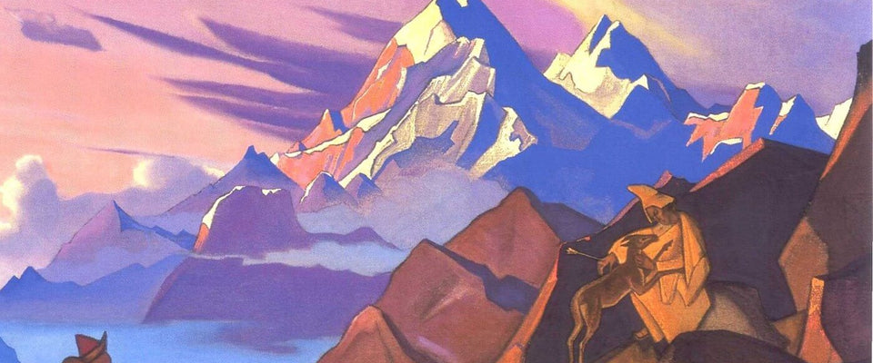 Compassion by Nicholas Roerich | Buy Posters, Frames, Canvas  & Digital Art Prints