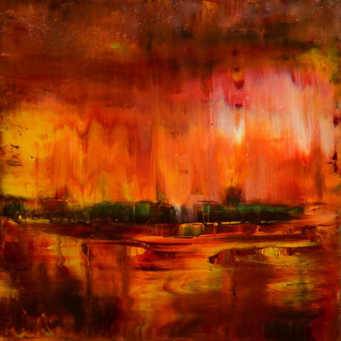 Contemporary Abstract Art - Ahaan - New Dawn