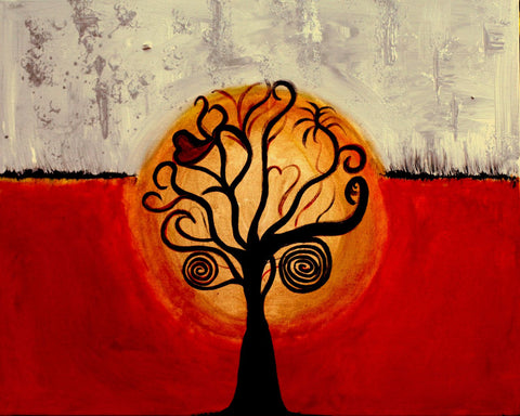 Contemporary Indian Art - Tree Of Life