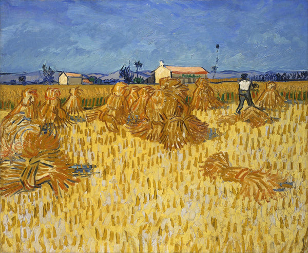 Corn Harvest in Provence - Life Size Posters