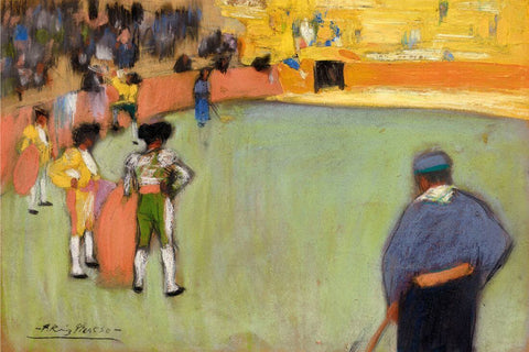 Bullfighting (Course De Taureaux) - Pablo Picaso