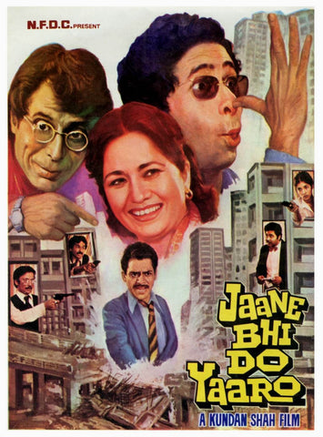 Cult Classics Movie Poster - Jaane Bhi Do Yaaro by Tallenge Store
