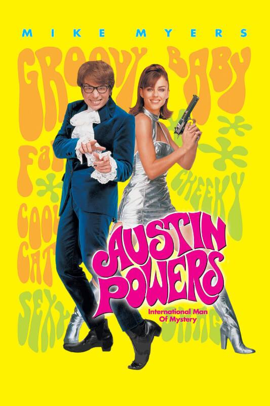 Cult Movie Poster - Austin Powers International Man of Mystery- Mike Myers  - Tallenge Hollywood Poster Collection - Large Art Prints by Tallenge Store    Buy Posters, Frames, Canvas & Digital Art