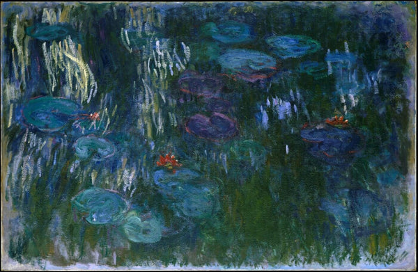 Claude Monet - Water Lilies - Canvas Prints