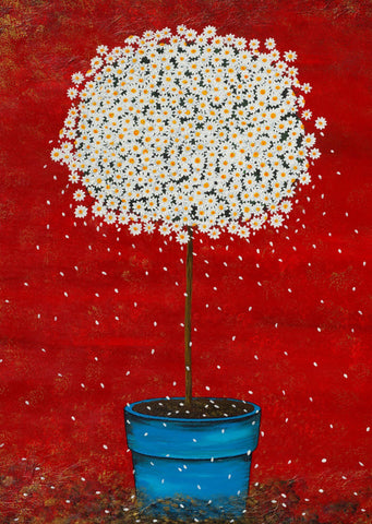 Daisy - Tallenge Floral Painting