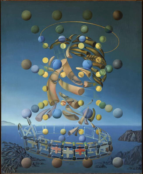 Dali Maximum Speed of Raphael's Madonna By Salvador Dali - Posters