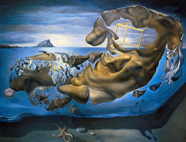 Rhinocerotic Figure of Phidias's Illisos, 1954 by Salvador Dali - Posters