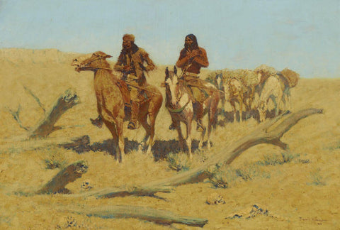Dead Men - Frederic Remington