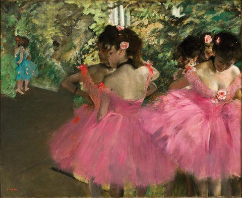 Dancers Anne Day - Canvas Prints