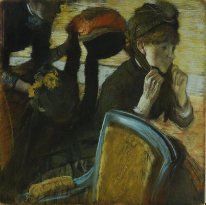 At The Milliners II by Edgar Degas | Buy Posters, Frames, Canvas  & Digital Art Prints
