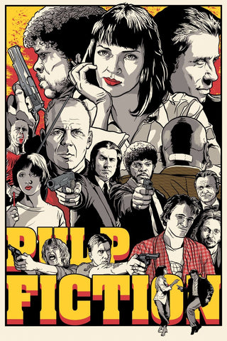 Digital Art - Pulp Fiction - Hollywood Collection by Joel Jerry