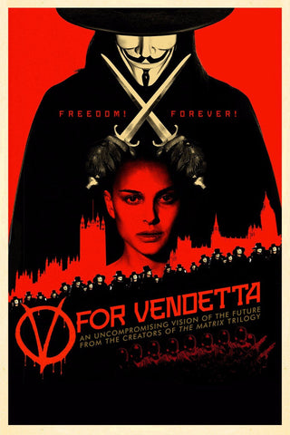 Tallenge Hollywood Collection - Movie Poster - V For Vendetta