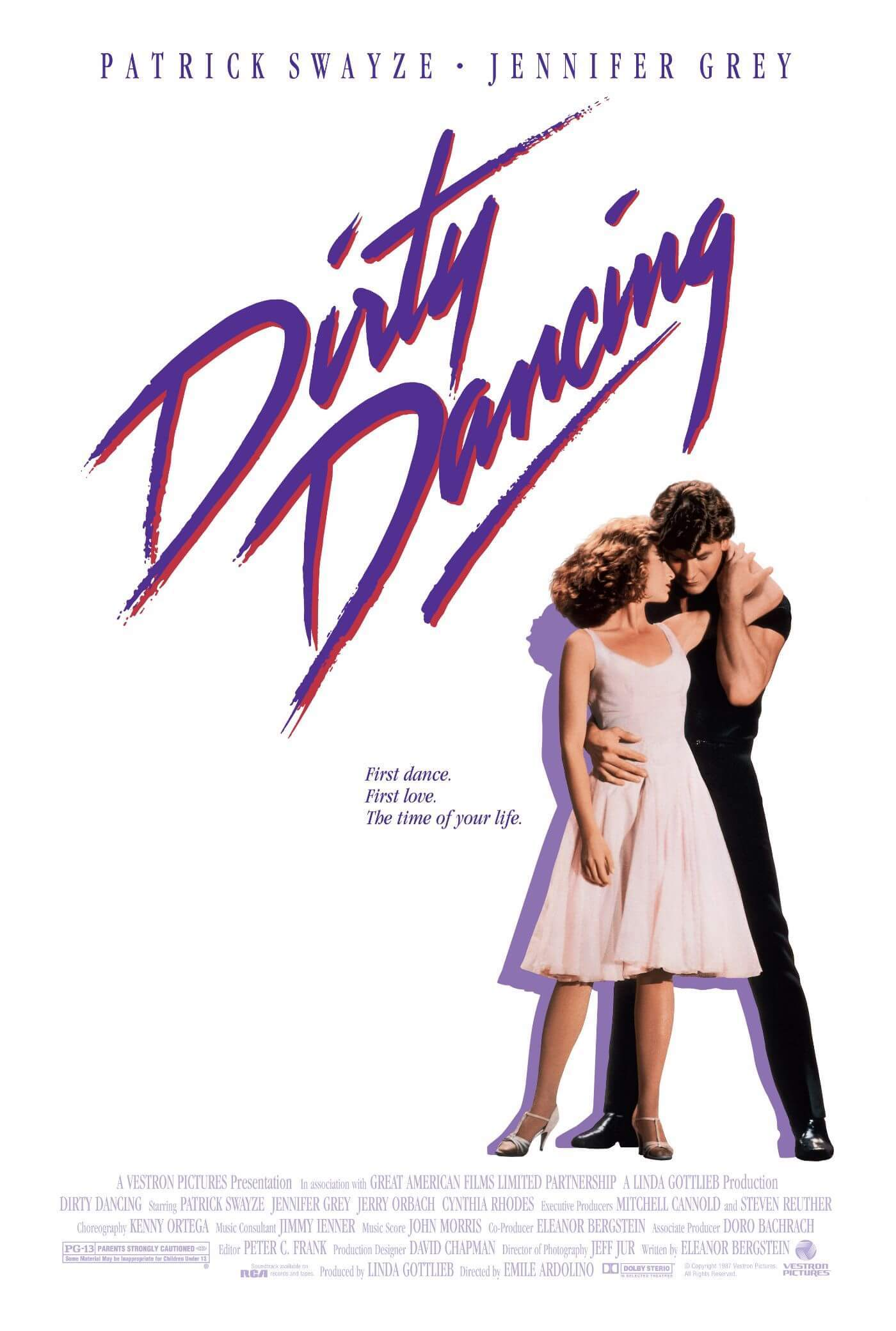 Dirty Dancing - Patrick Swayze - Hollywood English Musical Movie Poster - Life Size Posters