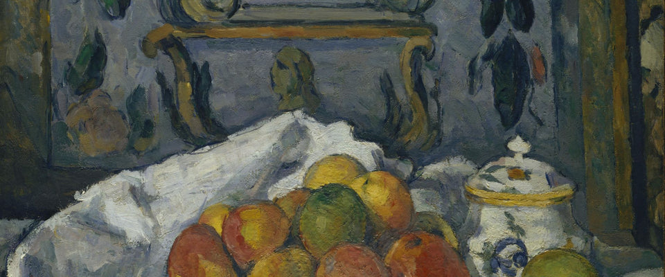 Dish of Apples by Paul Cézanne | Buy Posters, Frames, Canvas  & Digital Art Prints