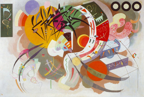 Dominant Curve - Posters by Wassily Kandinsky