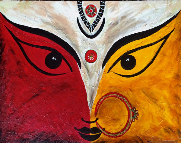 Durga Painting By James Britto Buy Posters Frames