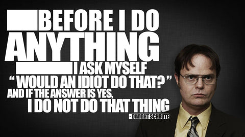 Before I Do - The Office - Dwight Schrute