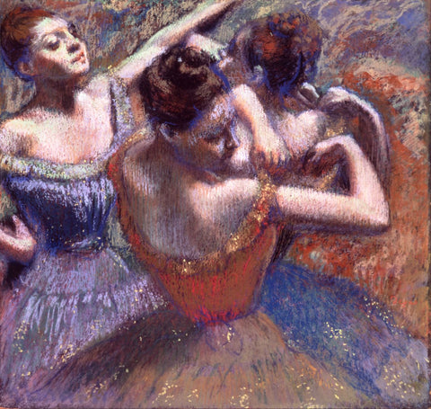 Edgar Degas - The Dancers