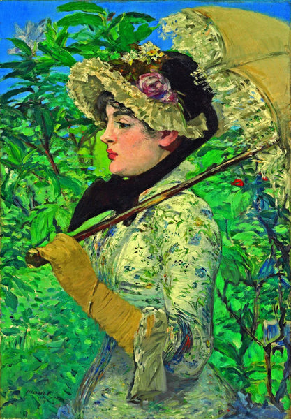 Edouard Manet - A Portrait Of A Parisian Actress - Posters
