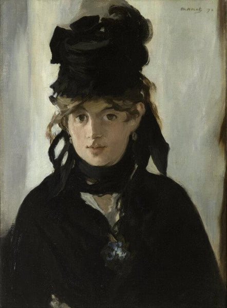 Berthe Morisot With A Bouquet Of Violets - Posters