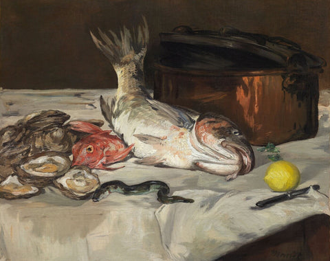 Fish Still Life (Poisson) - Edward Manet