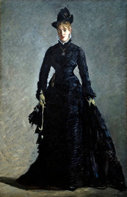 A Parisian Lady (La Parisienne) - Edouard Manet by Édouard Manet | Buy Posters, Frames, Canvas  & Digital Art Prints
