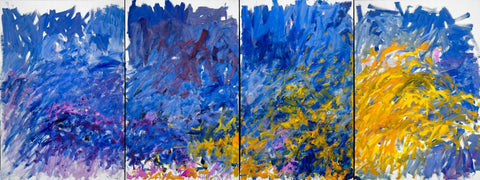 Edrita Fried - Joan Mitchell - Abstract Masterpiece Painting
