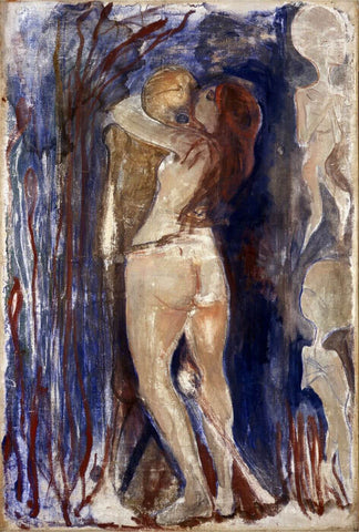 Death And Life  - Edvard Munch