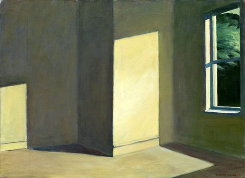 Edward Hopper- Sunlight In An Empty Room by Edward Hopper