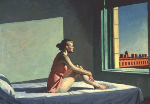 Morning Sun - II by Edward Hopper