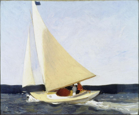 Edward Hopper - Sailing by Edward Hopper
