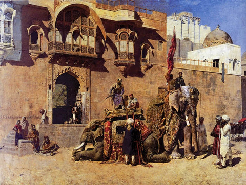 A Rajah Of Jodhpur c1888 - Edwin Lord Weeks