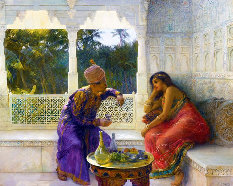 Edwin Lord Weeks - Conversation