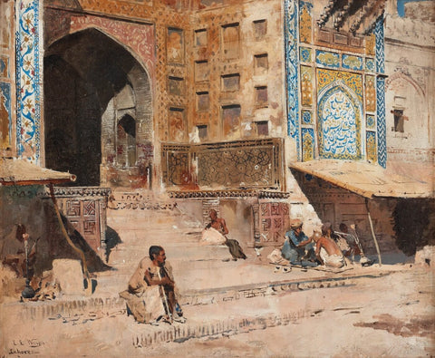Edwin Lord Weeks -The Temple At Bombay