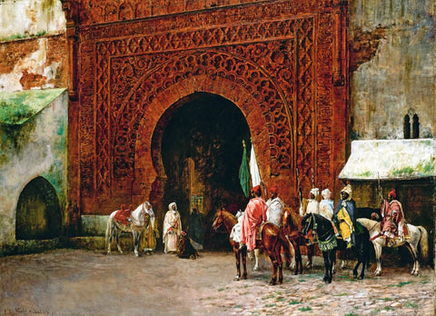 Edwin Lord Weeks - Rabat (The Red Gate)