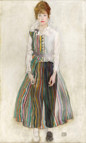 Egon Schiele - Edith Als Muse (Edith As Muse)