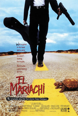 El Mariachi - Robert Rodriguez Hollywood Movie Poster
