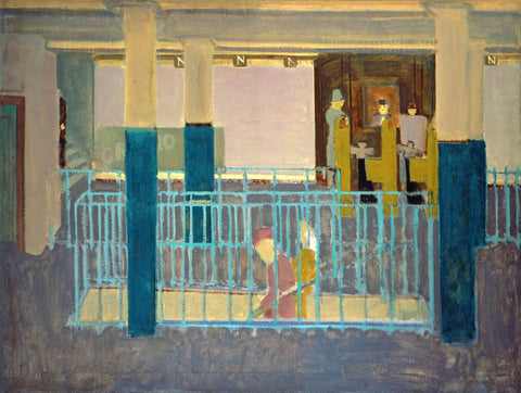 Entrance to Subway - Mark Rothko