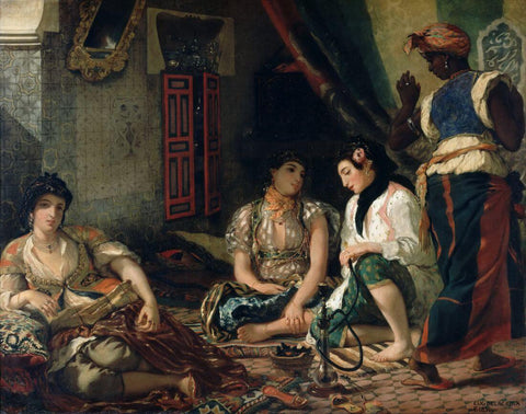 Eugène Delacroix - Women Of Algiers In Their Apartment
