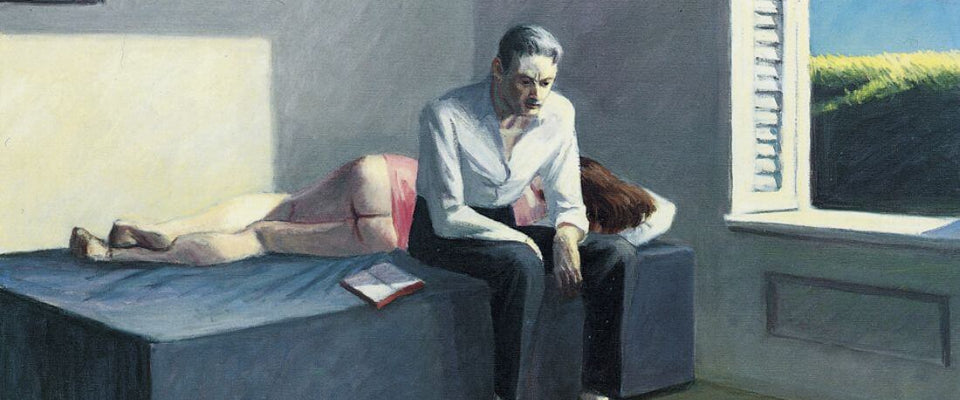 Excursion Into Philosophy - Edward Hopper by Edward Hopper | Buy Posters, Frames, Canvas  & Digital Art Prints