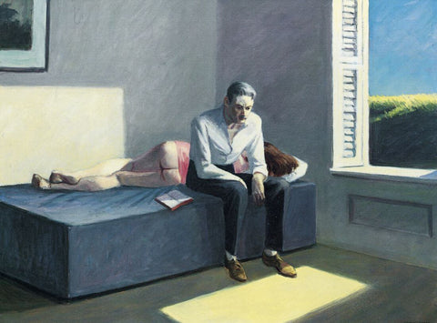 Excursion Into Philosophy - Edward Hopper by Edward Hopper